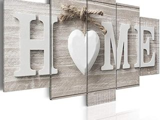 love Sanctuary large Canvas Print White Home Sweet Heart Modern Picture Wall Art Decor Painting 60x30 inch  Retail price  113
