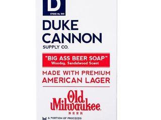 Duke Cannon Woodsy Sandalwood Beer Soap B25   10oz