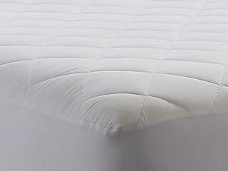 WamsuttaAr Waterproof Cotton cal king Mattress Pad