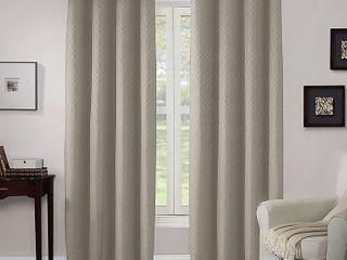 Wyndham Grommet Window Curtain Panel   linen   Size  52  X 95