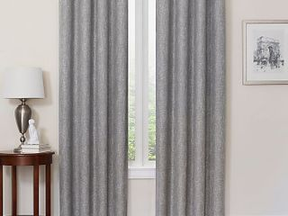 Quinn Grommet Top 100  Total Blackout 50  X 63  Window Curtain 1 Panel Gray
