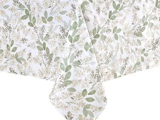 Colordrift Floral Bloom 60 Inch x 120 Inch Tablecloth