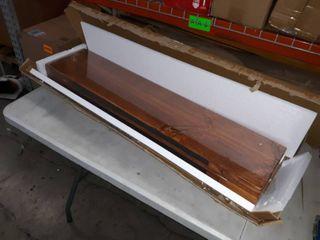 Welland Allen 8  Deep Floating Shelves Set of 2 Reclaimed Wood Wall Shelf Rustic Wall Mount Shelf   Set of 2  36 inch  Retail Price  49 99
