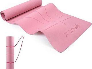 ToBelife Pink Yoga Mat