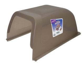 ScoopFree Self Cleaning litter Box Privacy Hood   Taupe