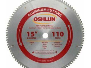 Oshlun 15  x 110 Tooth Circular Saw Blade Retail   154 91