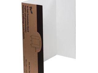 Pacon Spotlight Corrugated Presentation Display Boards  48  x 36  White  4 Carton