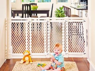 Supergate Extra Wide Gate  Ivory