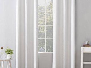 Sun Zero Cyrus Thermal Total Blackout Grommet Curtain Panel  2 Panels