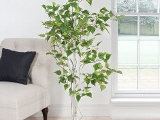 Birch Tree  Romano 5 foot Indoor  Outdoor Artificial Tree  Retail 99 49