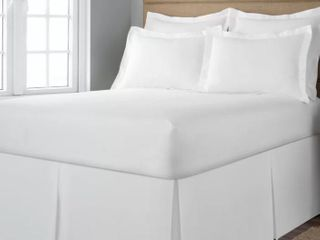 Space Saver Tailored Underbed Storage 21 inch Bedskirt