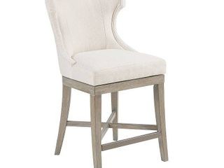 Madison Park Fillmore Counter Stool With Swivel Seat  Retail 305 99
