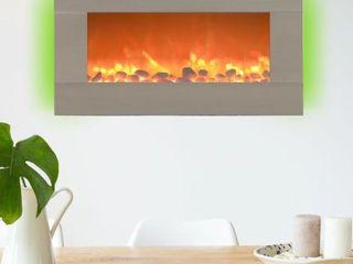 Northwest Electric Heater Fireplace 17x30 5