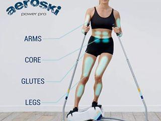Aeroski 2 0 Skit Fitness Machine  Total 3D Ski Experience  Retail 399 99