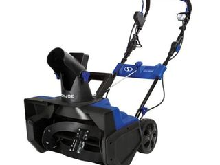 Snow Joe SJ625E 21 Inch 15 Amp Electric Snow Thrower with 4 Blade Auger  amp  light  Retail 249 99