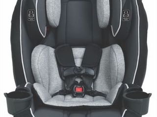 Graco SlimFit All in One Convertible Car Seat  Darcie Gray