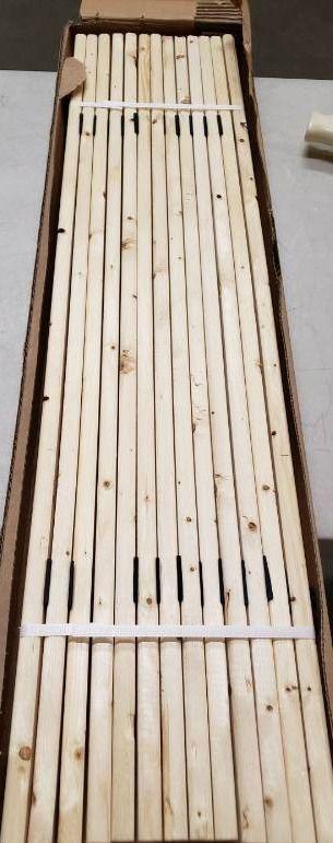 Wood Slats 39x2  13 Total