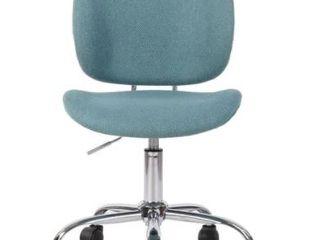Celipu 32  Adjustable Fabric Armless Task Chair  Retail 89 99