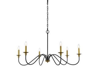 Rohan Collection 6 light Chandelier  Retail 144 00