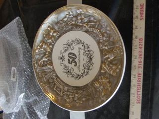 50th anniversary plate