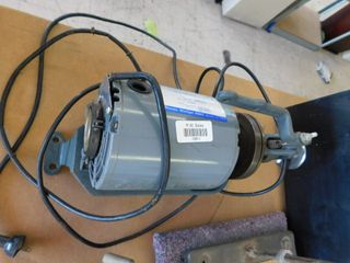 commercial electric motor   1 4 HP   sewing head