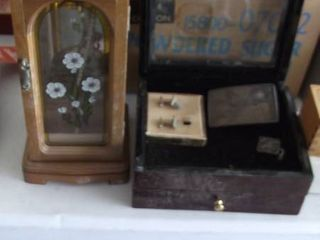 lot of jewelry boxes with contents