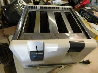 4 slice electric toaster