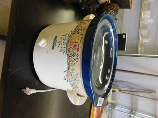 large Crock Pot with ceramic insert and lid