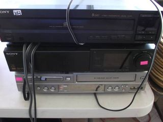 Sony home stereo   DVD VHS combo