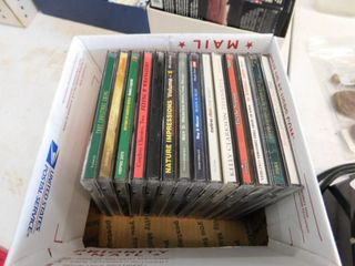 Miscellaneous lot of CDs