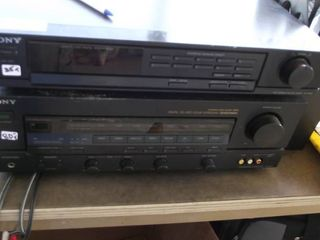 Sony home stereo   tuner and processor