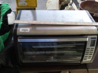 Black and Decker convection pizza oven