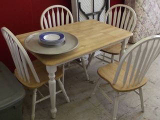 country table and chairs