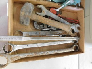 lot of used tools