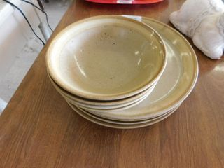 stoneware plates and bowls