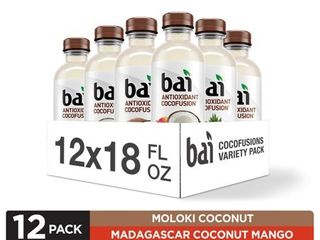 Bai Cocofusions Variety Pack  Version II  Antioxidant Infused Beverage