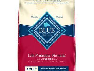 Blue Buffalo Fish   Brown Rice Recipe Adult Dry Dog Food   30lbs