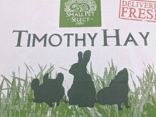 Small Pet Select Timothy Hay Pet Food  10 Pound