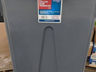 23 gallon slim trashcan