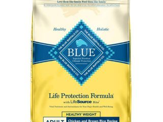 Blue Buffalo life Protection Healthy Weight Chicken   Brown Rice Recipe Adult Dry Dog Food   15lbs