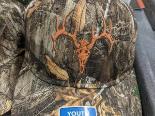 Youth Field and Stream camo hat lot of 3
