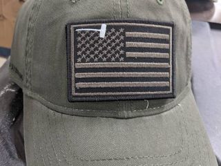 Field and Stream adult green patch tactical hat lot of 3 hats