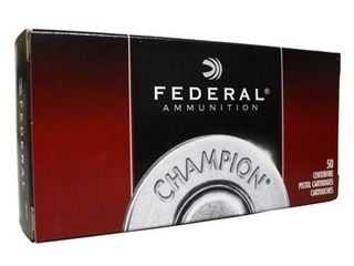 Federal Champion 9mm 115g Full Metal Jacket Rounds