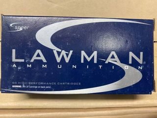 Speer lawman  45 GAP rare 200gr  TMJ   hard to find 50 rnd