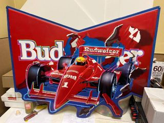 Budweiser formula 1 Tin graphic from 1991