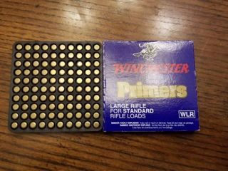 Winchester large Rifle Primers for Standard Rifle loads WlR Quantity 1000