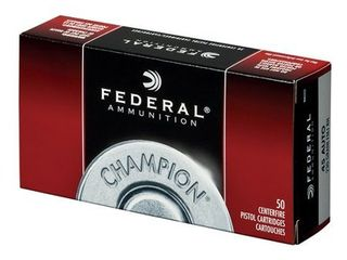Federal Champion 45 ACP 230 Gr  Ammunition  50 Box   WM5233