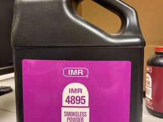 IMR Smokeless powder number 4895 8 pounds factory sealed
