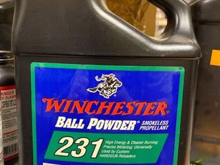 Winchester Reloading Ball Powder Number 231 4 pounds