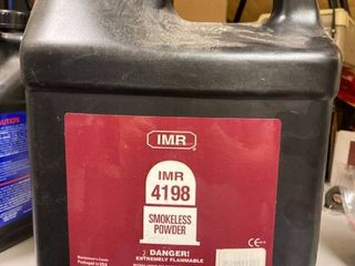 IMR Smokeless powder  4198  8 pounds full